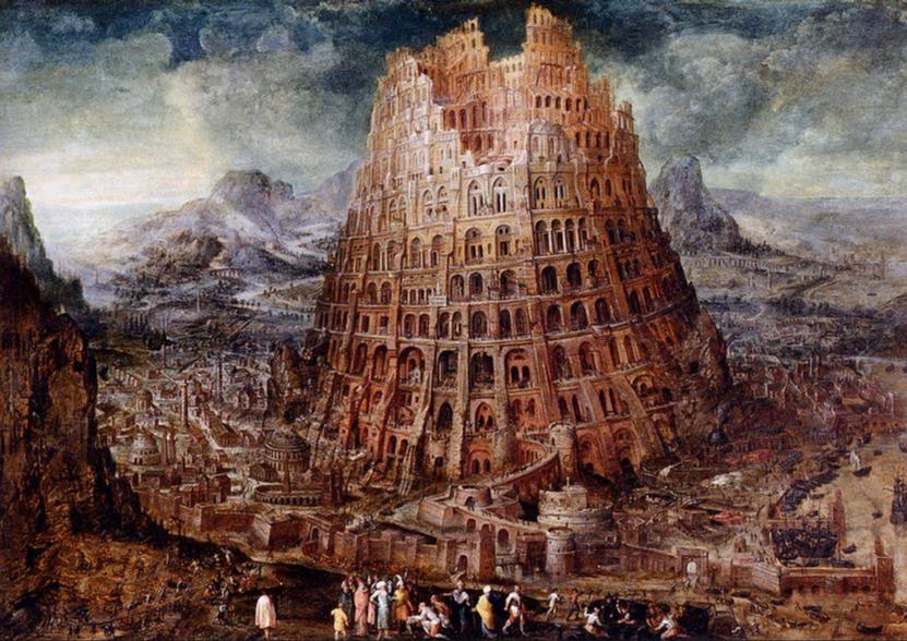Torre de Babel: La leyenda de la confusión de lenguas. - Juridiomas